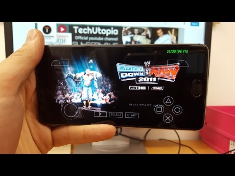 WWE SmackDown vs. RAW 2011 Android gameplay Smartphone emulator PPSSPP Snapdragon 821