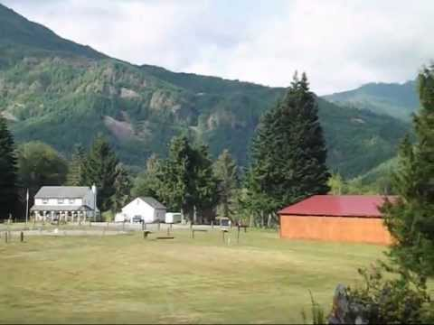 Small towns and rural lansdscape of Washington State USA