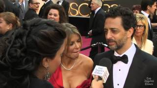 Grant Heslov on Oscars Red Carpet 2013