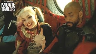 SUICIDE SQUAD | All Clips + Trailers Compilation [HD]