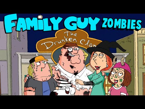 NEW! FAMILY GUYS ZOMBIES: DRUNKEN CLAM ★ Call of Duty Zombies