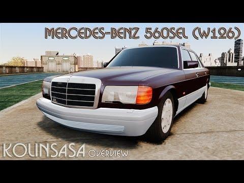 Mercedes-Benz 560SEL W126