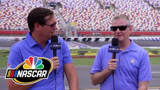 Burton and Letarte detail Charlotte ROVAL enhancements for 2019 | Splash and Go | Motorsports on NBC
