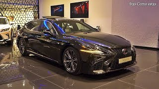 Lexus LS500 F-sport - Truly Luxury car with beautiful Interior and Exterior 2019