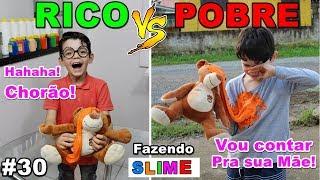 RICO VS POOR MAKING AMOEBA / SLIME # 30
