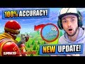 NEW 100 ACCURACY UPDATE In Fortnite Battle Royale mp3