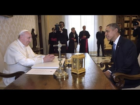 Revelation Chapter 13 - Pope Francis & President Obama - Vatican & USA - Antichrist & False Prophet