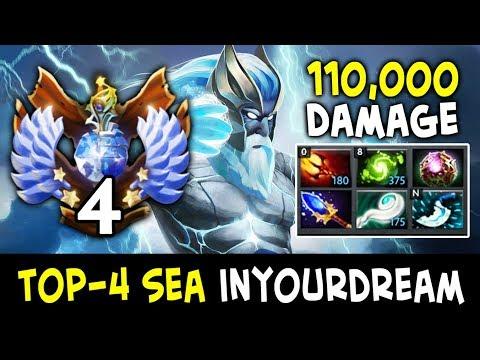 110k DAMAGE epic Base Defence — TOP-4 SEA inYourdreaM Zeus