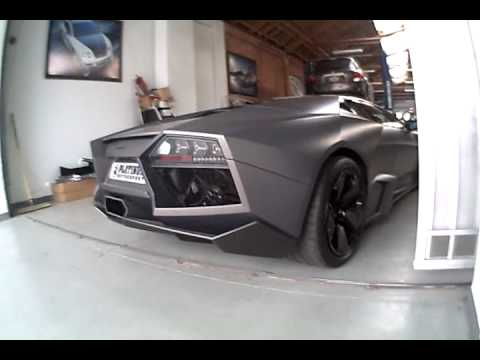 Lamborghini Reventon + wrecked Murcielago
