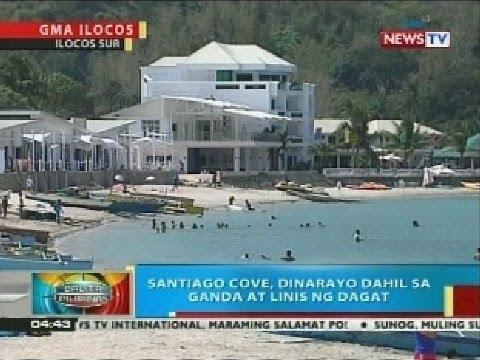 BP: Santiago Cove sa Ilocos Sur, dinarayo dahil sa ganda at linis ng dagat