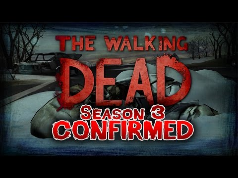 Telltale Games The Walking Dead Season 3 Confirmed :d video