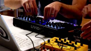 Livid CNTRL:R and Dave Smith Instruments Tempest - The Meeting
