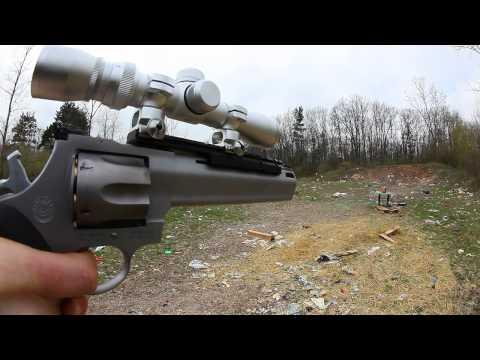 Taurus Raging Bull .44 Mag POV & Range Footage