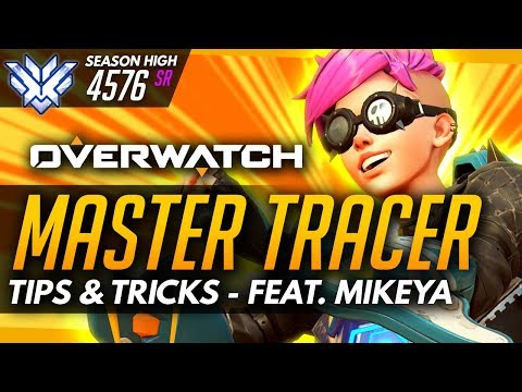 Overwatch | Master Tracer ft MikeyA (PRO PLAYER) - Tips and Advice (Guide)