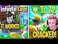 Mongraal Finds *INFINITE LOOT* Retail Row EXPLOIT! Tfue *AMAZED* Spectating 72hrs! (Fortnite)
