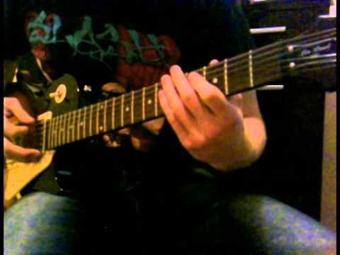Muse - Supermassive Black Hole (guitar cover by Erik)