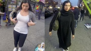 10 Hours of Walking in NYC as a Woman in Hijab