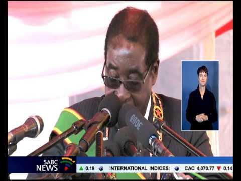 Zimbabwean President Robert Mugabe has told critics of his re-election to