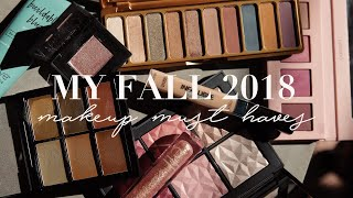 My 2018 Fall Makeup MUST-HAVES: Everything I'm ~Obsessed~ With | Mariah Leonard