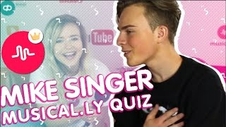Mike Singer im musical.ly-Quiz | Interview VideoDays 2016