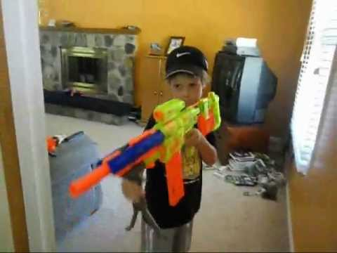 Nerf War The Movie