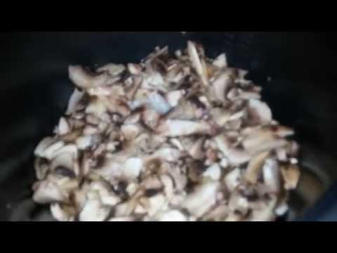 Как приготовить картофельную запеканку с грибами/Грибная запеканка в мультиварке