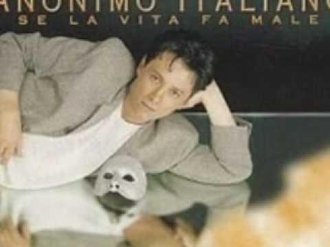 """"""" SE LA VITA FA' MALE""""  ANONIMO ITALIANO"""