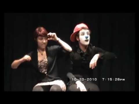 """FUSION HUMOR : El Bodoque como Payaso mimico en el """" 1° Encuentro Chileno Argentino de Mimo"""""""