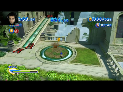 SONIC GENERATIONS - PC con mando de 360
