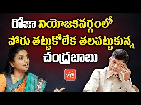 AP CM Chandrababu Gets Headache With YCP MLA Roja Constituency Politics | YOYO TV Channel