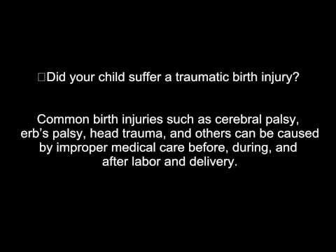 Birth Injuries | Birth Trauma | Birth Defects - Video