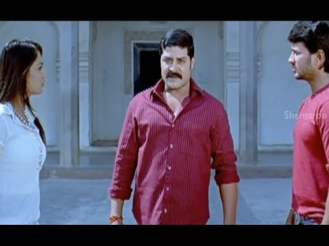 Badradri Full Movie Scenes - Srihari Telling Nikitha About Badradri Blowout - Nikitha, Raja, Srihari video