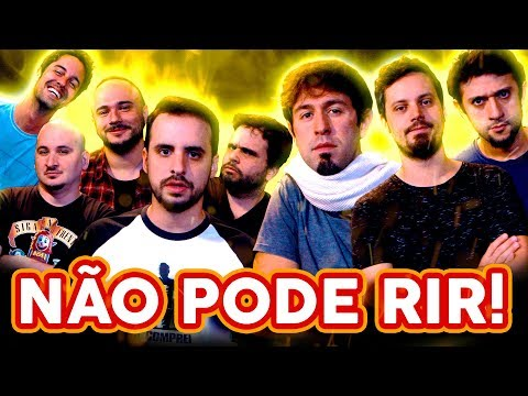 NÃO PODE RIR! com BARBIXAS - a TRILOGIA! Anderson Bizzocchi, Daniel Nascimento e Elidio Sanna thumbnail