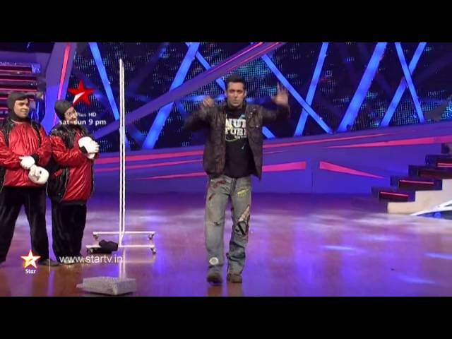 Week 10-  Salman Khan shares his experience of dancing for the first time on stage