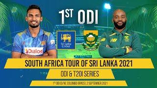 1st ODI - South Africa tour of Sri Lanka 2021