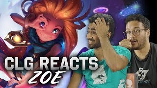 CLG REACTS | Zoe Champion Reveal