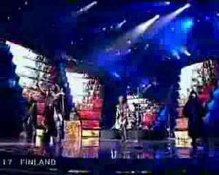 Lordi - Hard Rock Hallelujah - Eurovision final 2006 Video