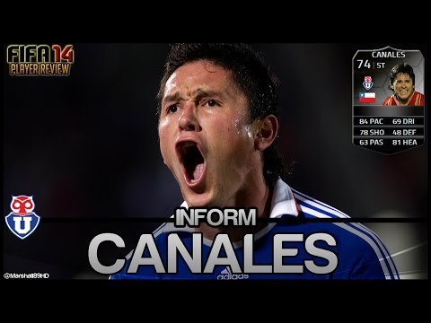 FIFA 14 UT - IF Canales || Inform Team of the Week Ultimate Team 74 Player Review + In Game Stats