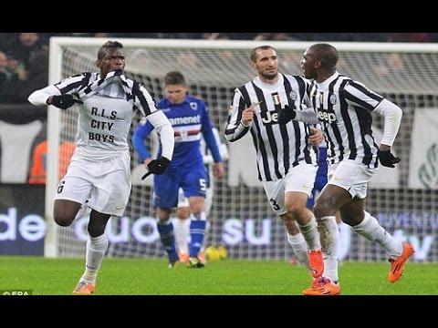 Juventus - Sampdoria 4-2 (18.01.2014) 1a Ritorno Serie A.