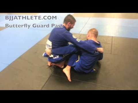 Butterfly Guard Pass | Jiu Jitsu Technique Image 1