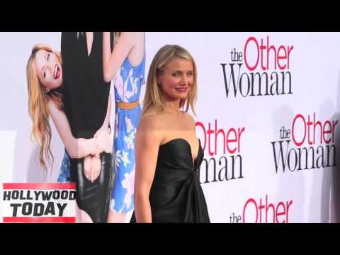 CAMERON DIAZ STILL GOT IT! The Other Woman Arrival