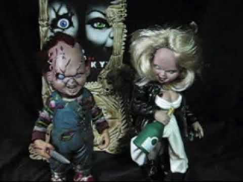 McFarlane Movie Maniac Bride of Chucky Boxset Figure Review
