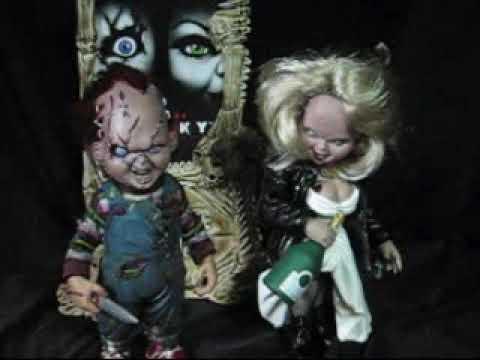 McFarlane Movie Maniac Bride of Chucky Boxset Figure Review