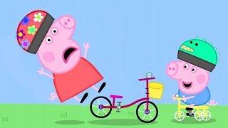 Peppa Pig Português   BICICLETAS   Pepa ping ping   Peppa Pig