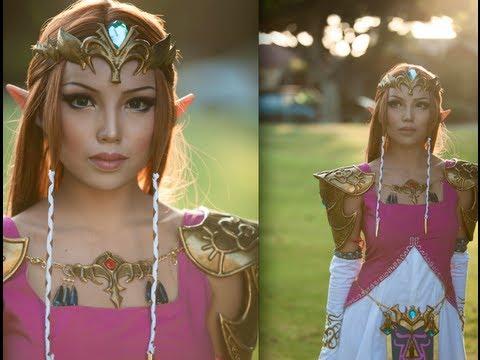Princess Zelda Make-up Transformation