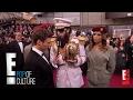 Sacha Baron Cohen Spills Ashes on Ryan Seacrest - 2012 Oscars