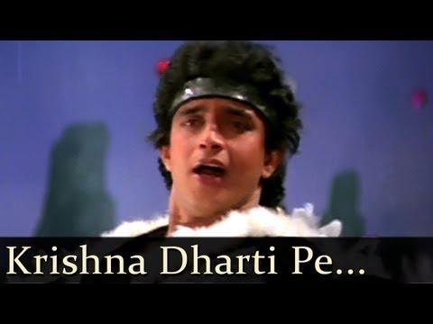 Disco Dancer - Krishna Dharti Pe Aaja Tu Krishna Pyar Sikha Ja - Nandu Bhende video
