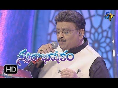 Patala Pallakivai Song   S P Balu Performance   Swarabhishekam   18th February 2018  ETV Telugu