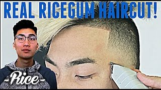 BARBER TUTORIAL : RICEGUM HAIRCUT HD ! | Ft. Ricegum