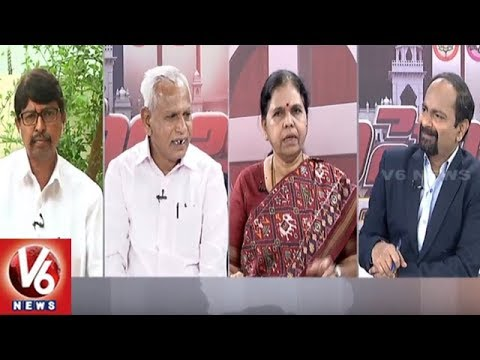 Special Debate | Parties Gives Tickets To New Joining Leaders | Good Morning Telangana | V6 News